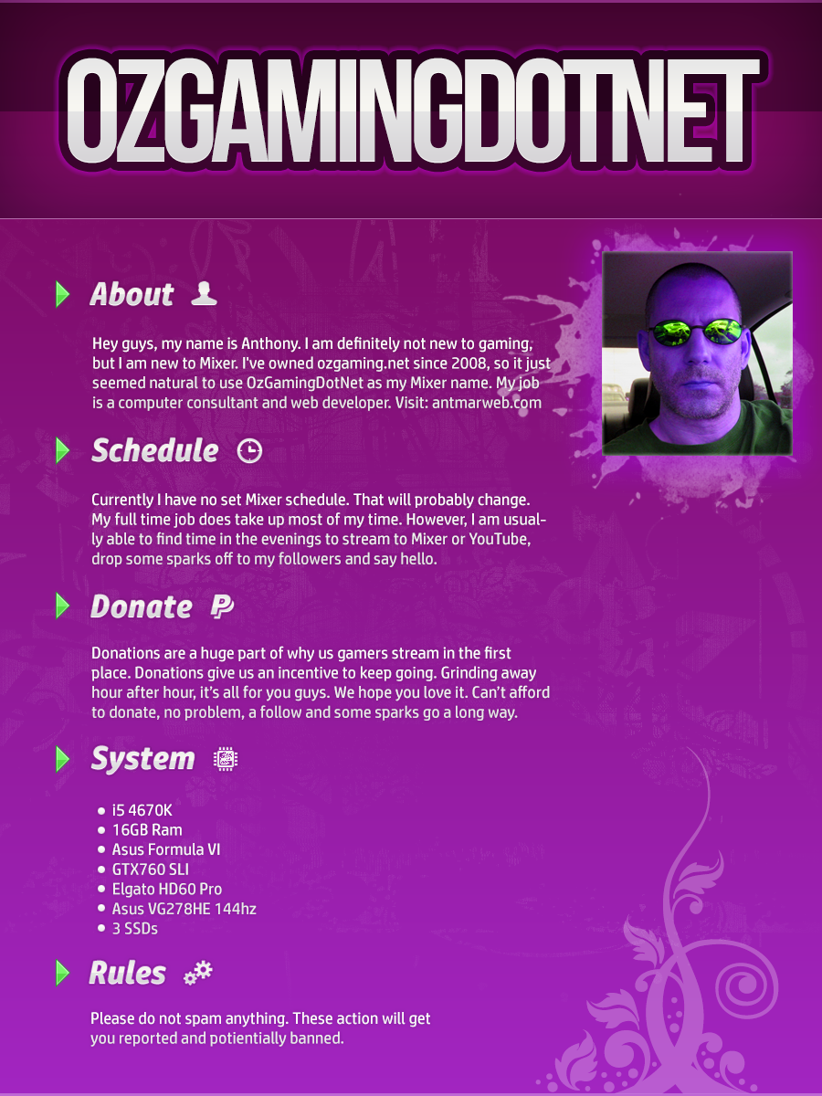 Mixer Info Graphic