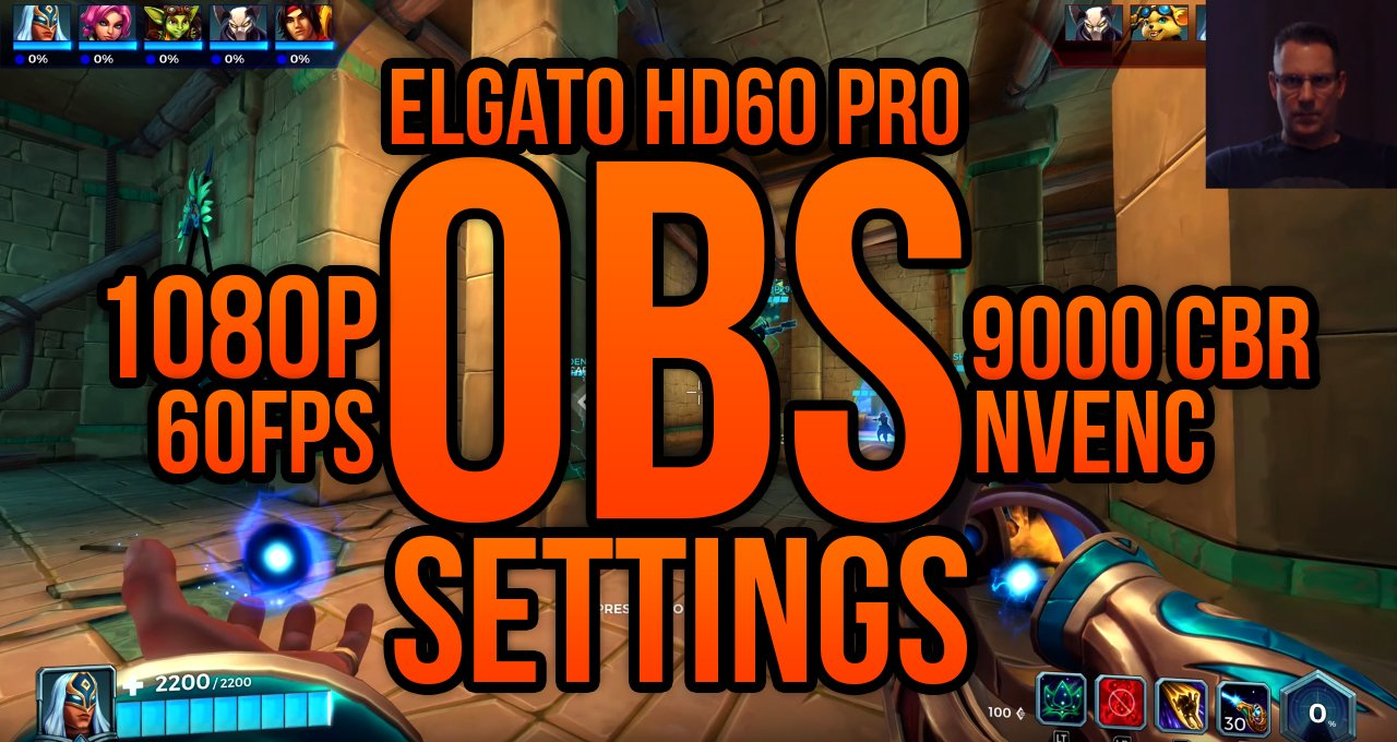 My OBS Stream Output Settings for Game Streaming